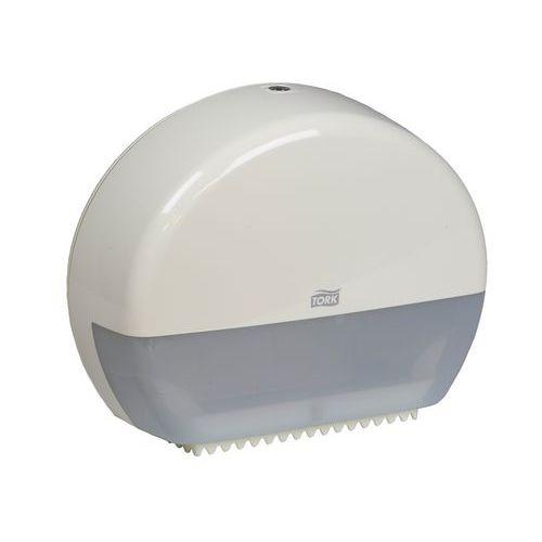Zásobník na toaletní papír v rolích Tork T-Box Mini, bílý