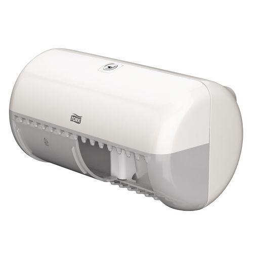 Zásobníky na toaletní papír v rolích Tork Twin-Box, na 2 role
