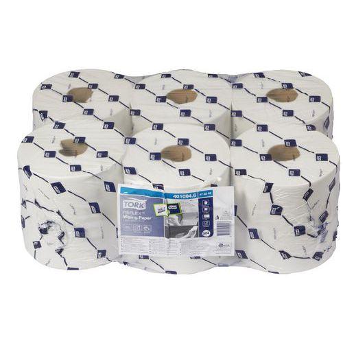 Papírové ručníky Tork Reflex 1vrstvé, 857 útržků, bílé, 6 ks