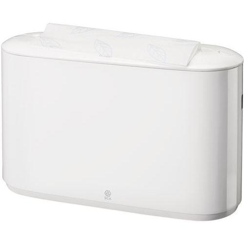Zásobník na skládané papírové ručníky Tork express, bílý