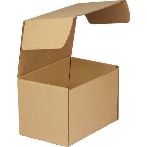 Kartonová krabice s víkem, 155 x 235 x 155 mm