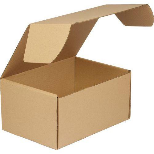 Kartonová krabice s víkem, 155 x 320 x 220 mm