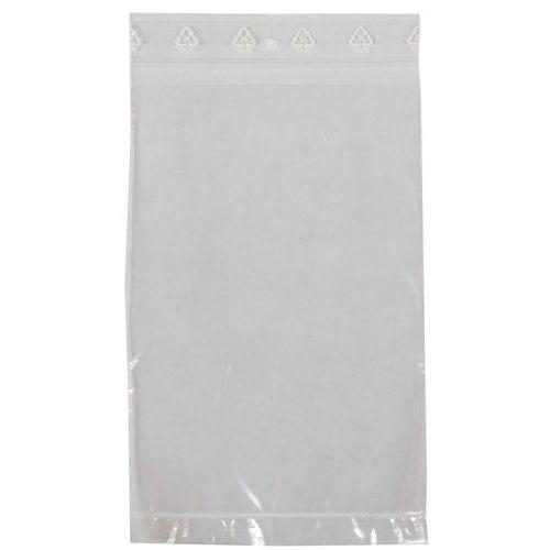 Uzavíratelné sáčky s kapsou, 195 x 125 mm, 1 000 ks