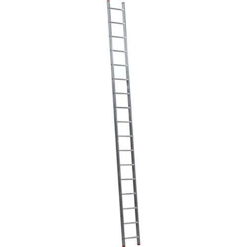 Hliníkový žebřík HOBBY, 17 příček - Prodloužená záruka na 10 let