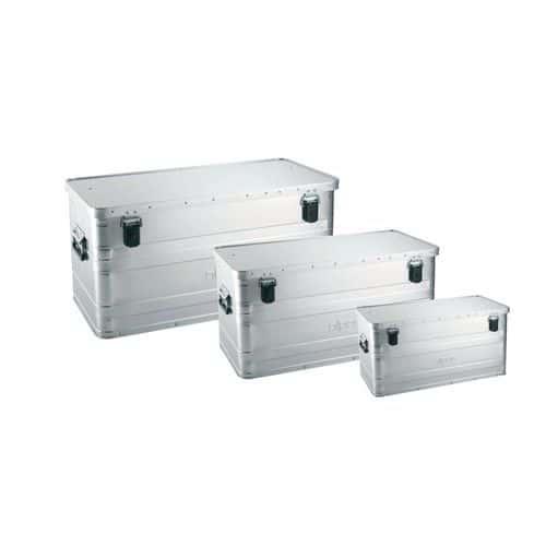 Hliníkové přepravní boxy, plech 0,8 mm