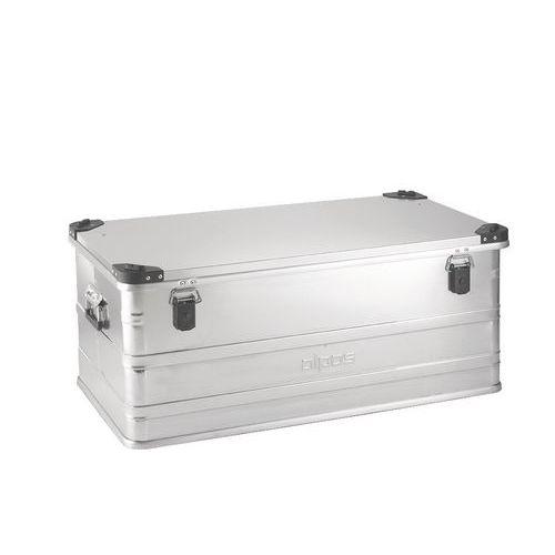 Hliníkový přepravní box, plech 1 mm, 140 l