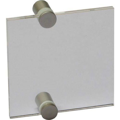 Informační dveřní tabulka Crystal Sign, 105 x 105 mm