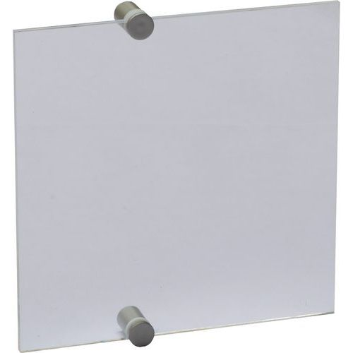 Informační dveřní tabulka Crystal Sign, 210 x 210 mm