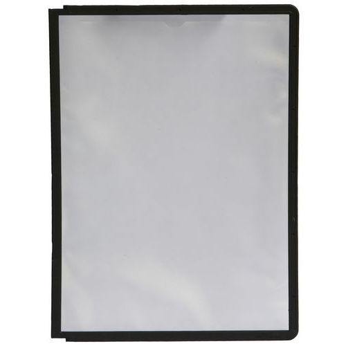 Informační rámečky Cordoba A4, 10 ks, černé