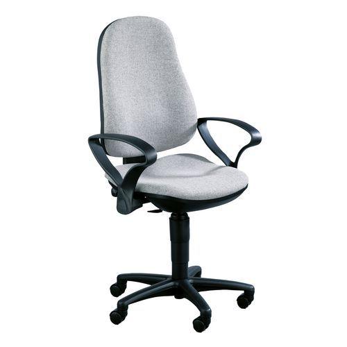 Kancelářská židle Support, šedá