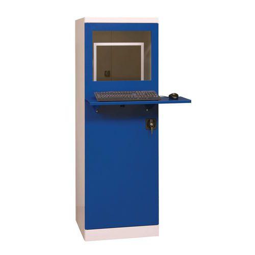 Dílenská skříň pro PC, 160 x 55 x 55 cm - Prodloužená záruka na 10 let