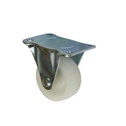 Polypropylenová transportní kola s přírubou, průměr 50 - 150 mm, pevná, kluzná ložiska
