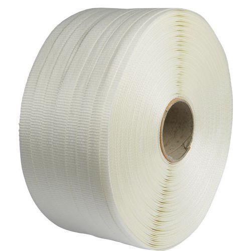 Vázací páska PES příčně tkaná, 19 mm, tloušťka 1 mm, 500 m