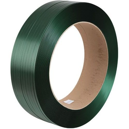 Netkaná vázací páska PET, 15,5 mm, tloušťka 0,7 mm, pevnost 386