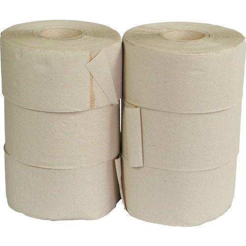 Toaletní papír Jumbo 1vrstvý, 19 cm, 120 m, 45% bílá, 6 rolí