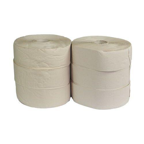 Toaletní papír Jumbo 1vrstvý, 28 cm, 290 m, 45% bílá, 6 rolí
