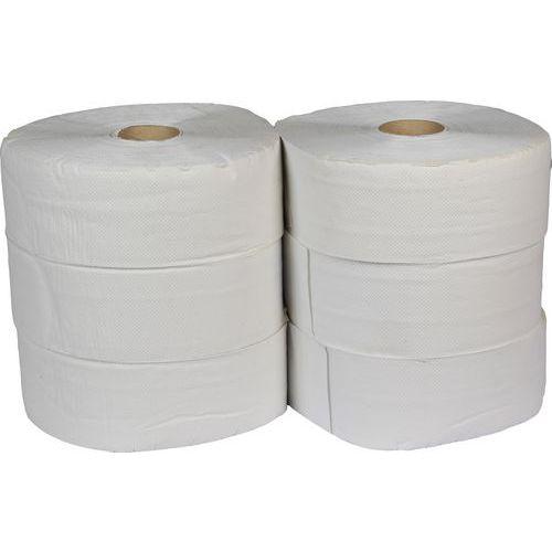 Toaletní papír Jumbo 2vrstvý, 28 cm, 260 m, 75% bílá, 6 rolí