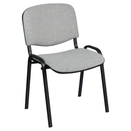Konferenční židle ISO Black, šedá