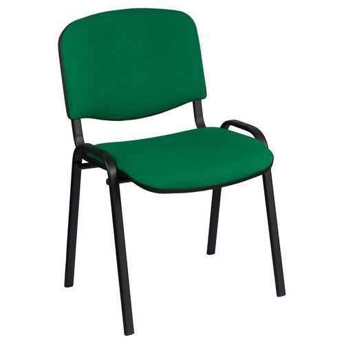 Konferenční židle Manutan ISO Black, zelená