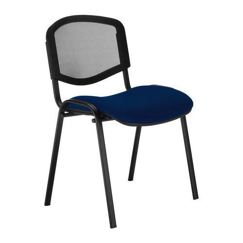 Konferenční židle ISO Mesh, modrá