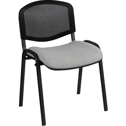 Konferenční židle ISO Mesh, šedá
