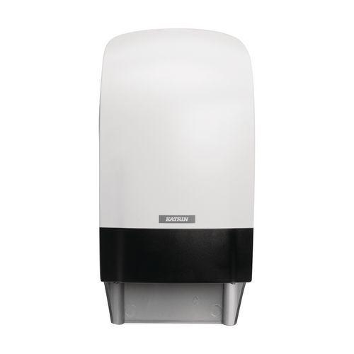 Zásobník na toaletní papír v rolích Katrin Inclusive System, bílý