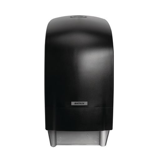 Zásobník na toaletní papír v rolích Katrin Inclusive System, černý