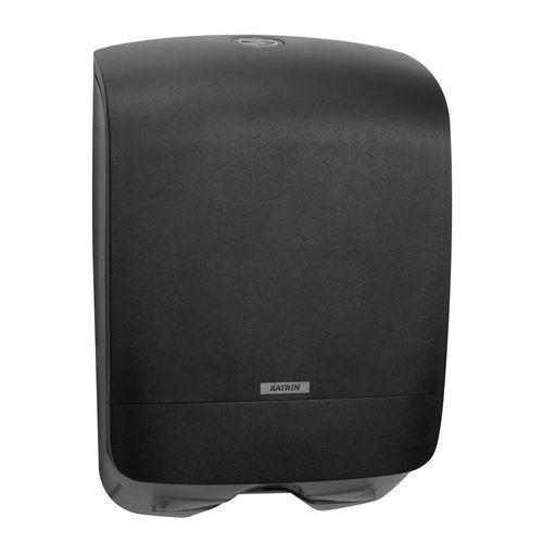 Zásobník na skládané papírové ručníky Katrin Inclusive Mini, černý