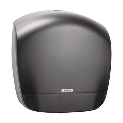 Zásobník na toaletní papír v rolích Katrin Inclusive Gigant S, černý