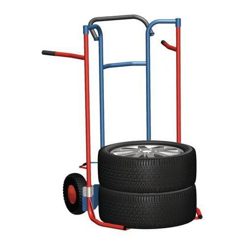 Rudl RU37 na pneu s dušovými koly, do 200 kg