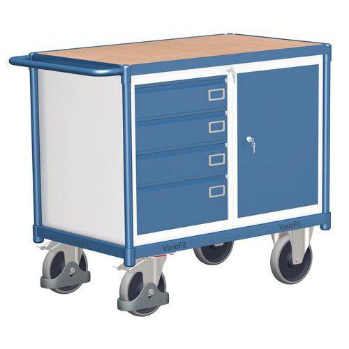 Dílenský vozík, 92,5 x 119 x 60 cm - Prodloužená záruka na 10 let
