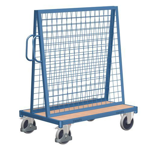 Vozík s nástavbou pro zavěšení materiálu, do 500 kg