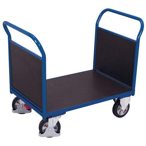 Plošinový vozík se dvěma madly s plnou výplní, do 1 000 kg, 100,