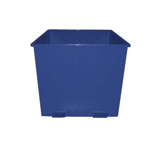 Výklopný kontejner pro otočné vidle, objem 1 300 l