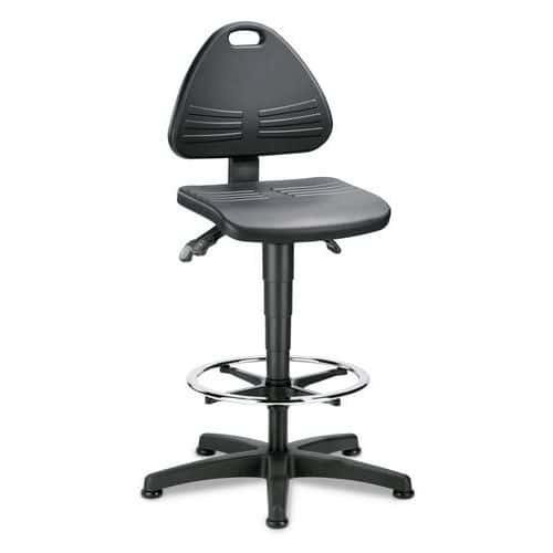 Zvýšená pracovní židle TOP s kluzáky