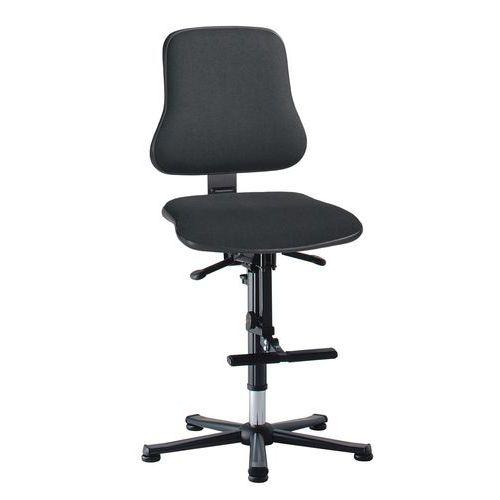 Zvýšená pracovní židle Worker s kluzáky