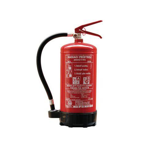 Pěnový hasicí přístroj, 6 l (21A, 183B), CZ etiketa