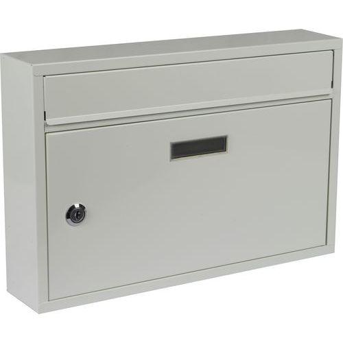 Kovová poštovní schránka Cerusit, bílá