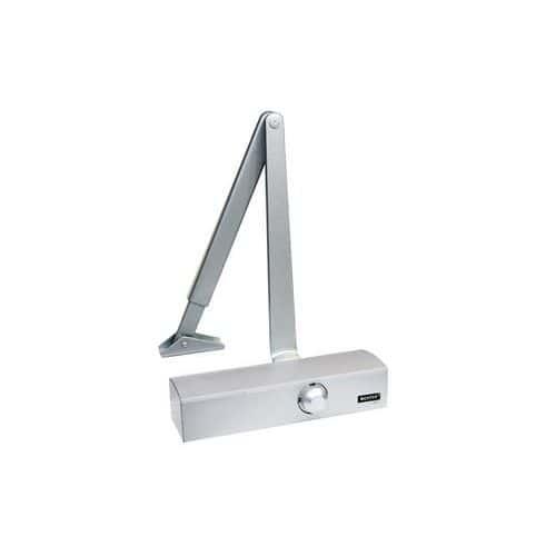 Dveřní zavírač pro interiérové dveře s šířkou 950 mm, stříbrný