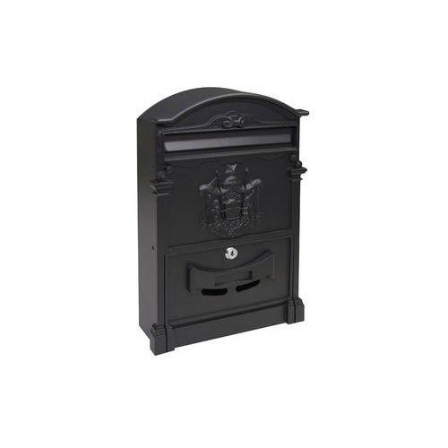 Kovová poštovní schránka Kuprit, černá