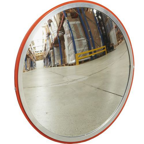 Průmyslové kulaté zrcadlo Manutan, 300 mm