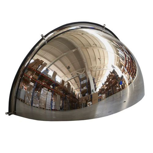 Průmyslové parabolické zrcadlo, čtvrtkoule, 1000 mm