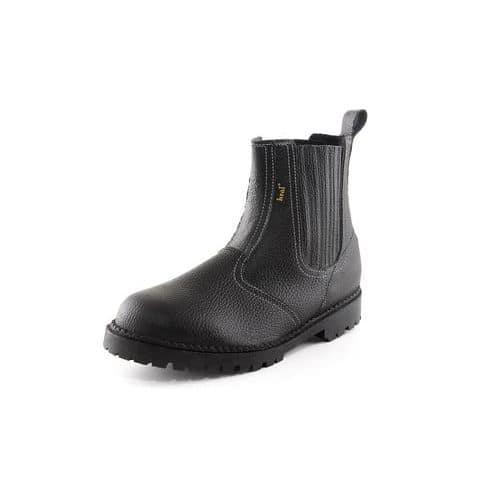 Pracovní kožené kotníkové boty CXS Drago, černé
