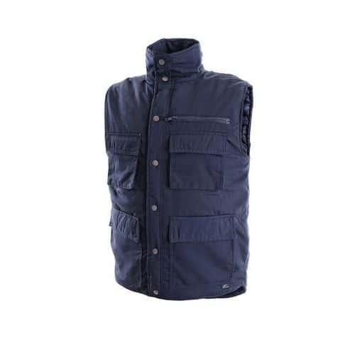 CXS DENVER pánská zateplená vesta modrá