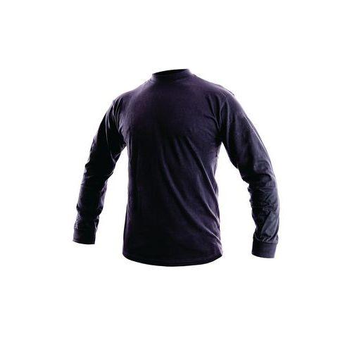 Pánské tričko s dlouhým rukávem, tmavě modré