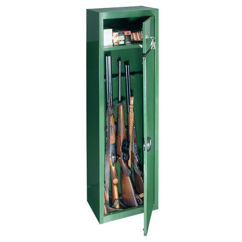 Skříň na zbraně s mechanickým zámkem