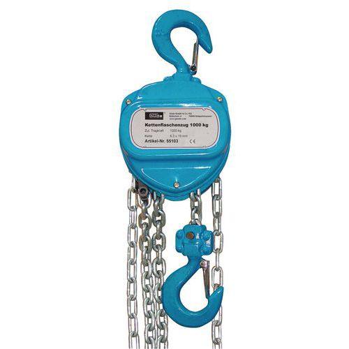 Řetězový kladkostroj 1000 kg, GÜDE (55103) 55103 - Prodloužená záruka na 10 let
