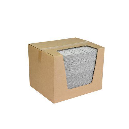 Sorpční rohože, univerzální, 40 x 50 cm, kapacita 101 l, 100 ks