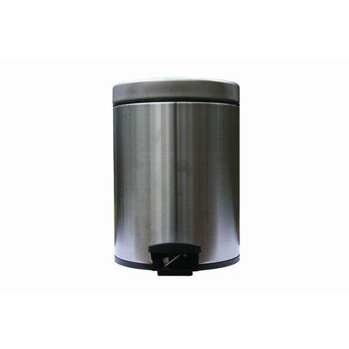 Kovové odpadkové koše Merida Clean, objem 5 l