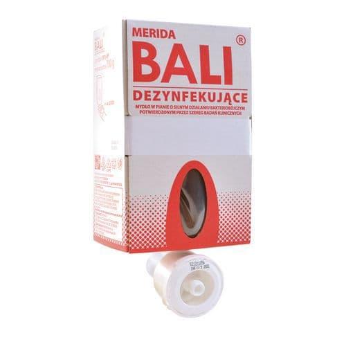 Dezinfekční pěna Merida Bali na ruce, náplň do dávkovače, 0,7 l, 6 ks